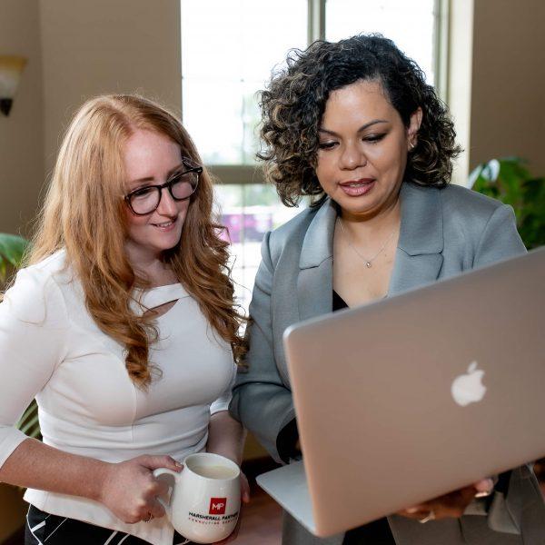 Tricia Marsherall and Angeline Viruet