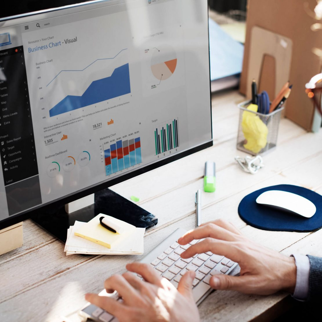 Report building, Dashboards & Analytics